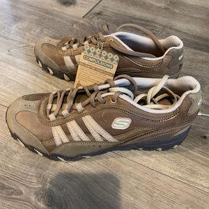 Skechers Compulsions Blender Lace Up Shoes Size 8